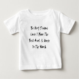 Seja causa que muito ciumento eu tenho a melhores camiseta para bebê