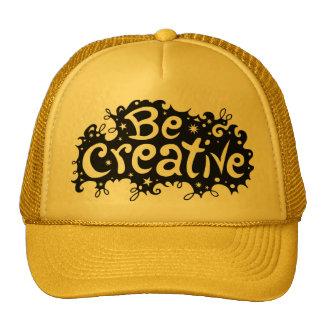 Seja chapéu criativo bones