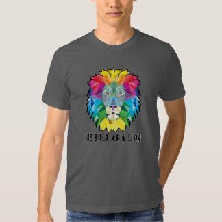 seja corajoso t-shirt