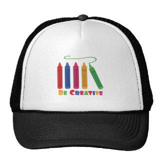 Seja criativo boné