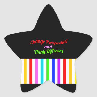 Seja diferente adesito estrela