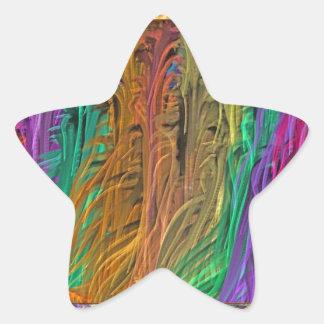 SEJA diferente, se u considera ARCOS-ÍRIS sua Adesivo Em Forma De Estrela