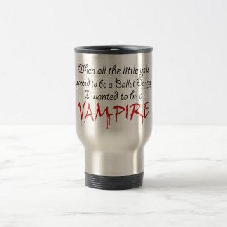 Seja dizer do vampiro caneca térmica