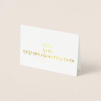 seja meu cartão do coração do ouro dos namorados