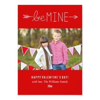 Seja meu cartões do dia dos namorados de | convite 12.7 x 17.78cm