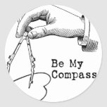 Seja meu compasso adesivo