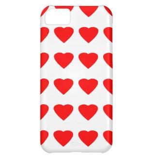 Seja meu jGibney dos corações 36Red Transp dos Capa Para iPhone 5C