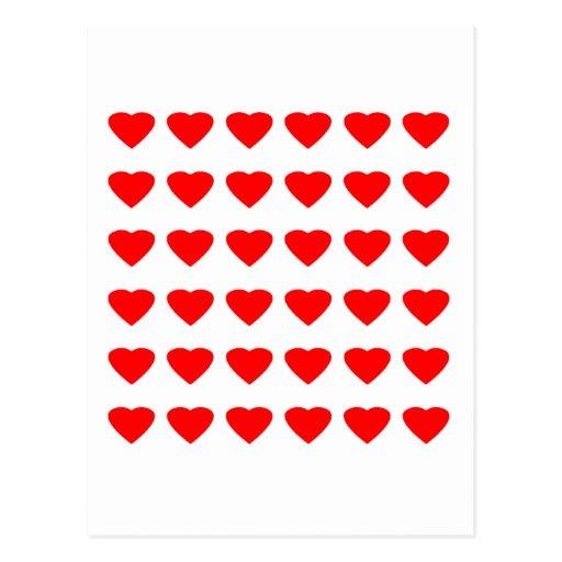 Seja meu jGibney dos corações 36Red Transp dos Cartoes Postais