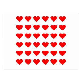 Seja meu jGibney dos corações 36Red Transp dos Cartão Postal