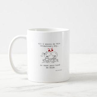 Seja minha caneca de café dos namorados