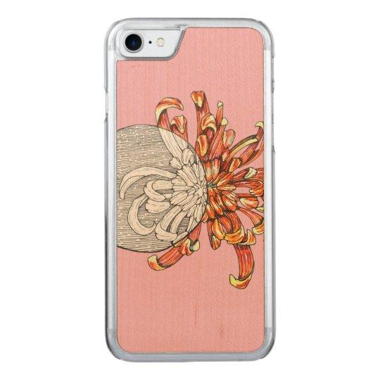 Seja minha flor capa iPhone 7 carved
