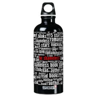 Seja nuvem desavergonhado da palavra garrafa d'água