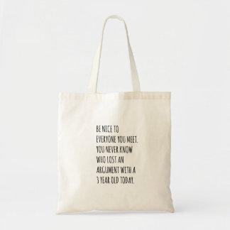 Seja o bolsa agradável