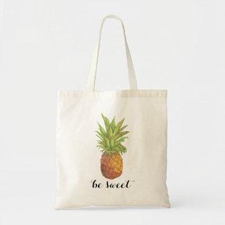 Seja o bolsa doce do abacaxi