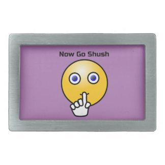 Seja quieto vão Shush o Emoticon