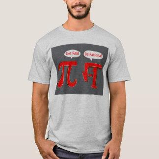 Seja racional camiseta