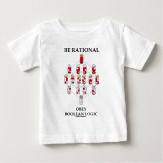 Seja racional obedecem a lógica booleana (o camiseta para bebê