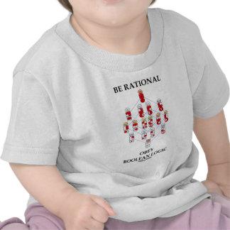 Seja racional obedecem a lógica booleana o diagra t-shirt