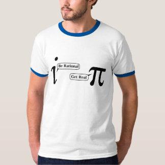 Seja racional obtêm real t-shirt