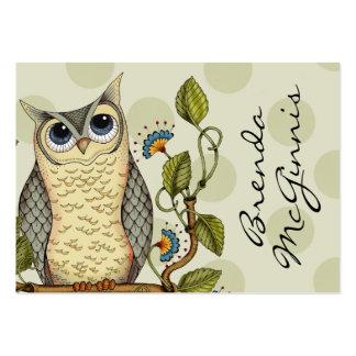 Seja sábio - negócio/cartão das mamães cartão de visita grande