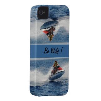 Seja selvagem! capa para iPhone 4 Case-Mate