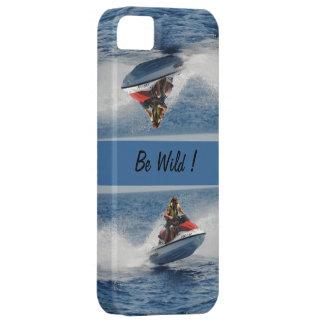 Seja selvagem! capa para iPhone 5