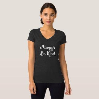 Seja sempre camisa amável