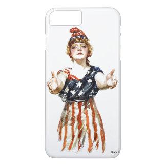 """Seja"" senhora patriótica Liberdade de WWI Capa iPhone 7 Plus"