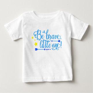 Seja setas pequenas bravas e estrelas de um Boho Camiseta Para Bebê