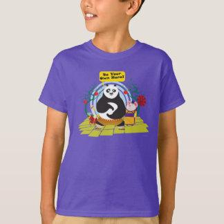 Seja seu próprio herói camiseta