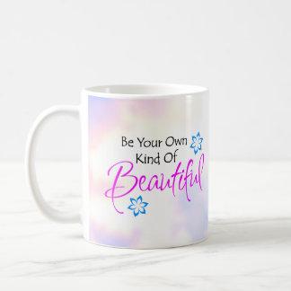 Seja seu próprio tipo da caneca bonita