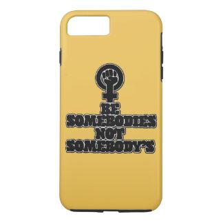 Seja somebodies não alguém capa iPhone 7 plus