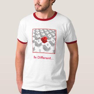 Seja t-shirt diferente
