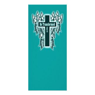 Seja transformado - 12:2 dos romanos 10.16 x 22.86cm panfleto
