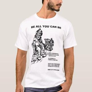 Seja tudo que você pode estar um rato do camiseta