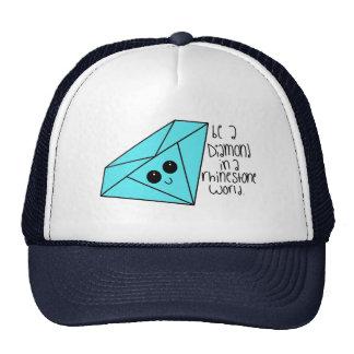 Seja um chapéu do diamante boné