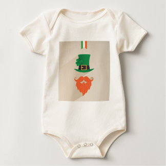 Seja um IRLANDÊS Body Para Bebê