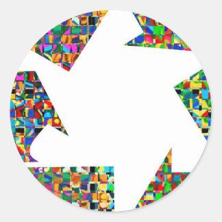 Seja um líder - seja diferente:  Feliz aniversario Adesivo Em Formato Redondo
