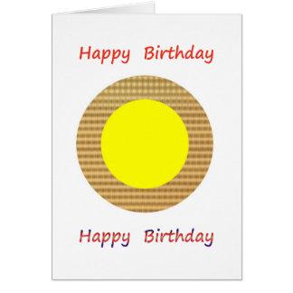 Seja um líder - seja diferente:  Feliz aniversario Cartão Comemorativo