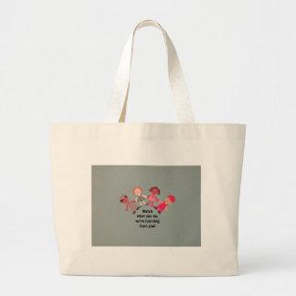 Seja um modelo para crianças bolsas