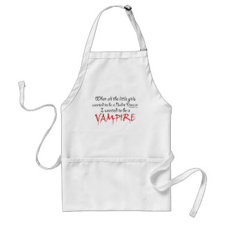 Seja um vampiro aventais