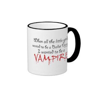 Seja um vampiro canecas