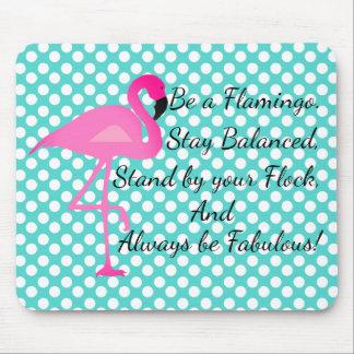 Seja umas bolinhas Mousepad do flamingo