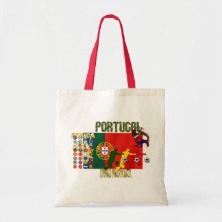 Selecção Portuguesa - 32 Paises Futebol Arte Bolsa Para Compra