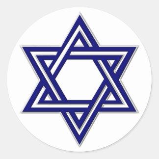 Selo da estrela de David do KRW Adesivo