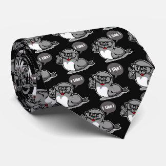 Selo de aprovação gravata