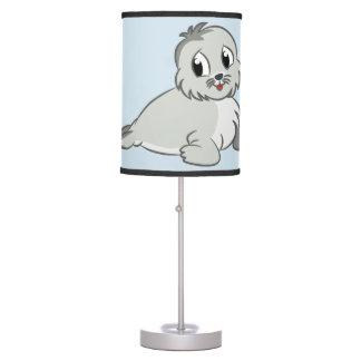 Selo de bebê bonito da lâmpada das crianças