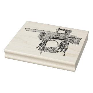 Selo de borracha antigo da arte da máquina de carimbo de borracha
