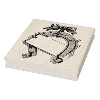 Selo de borracha da arte de Horsehoe da boa sorte Carimbo De Borracha