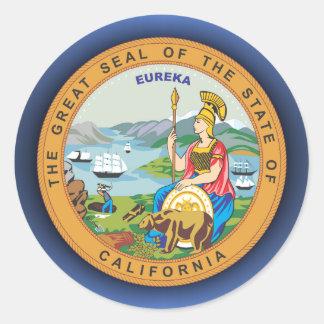 Selo de Califórnia Adesivo